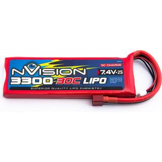 nVision LiPol 3300mAh 7.4V 30C