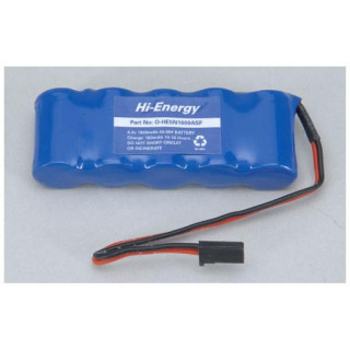 Baterie Rx NiMH 6.0V 1600mAh plochý