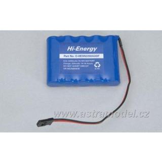 Baterie Rx NiMH 6.0V 2200mAh plochý
