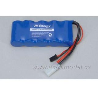 Baterie Rx NiMH 6.0V 3300mAh plochý