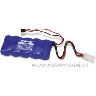 Baterie Rx NiMH 6.0V 5000mAh plochý