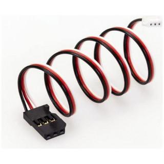 Kabel konverzní Futaba - ZH 100mm