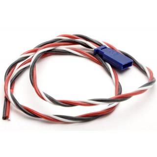 Kabel s konektorem Futaba 6A 50cm