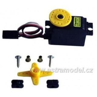 Servo Mini SD200 BB 4mm převod 0.14s/2.5kg
