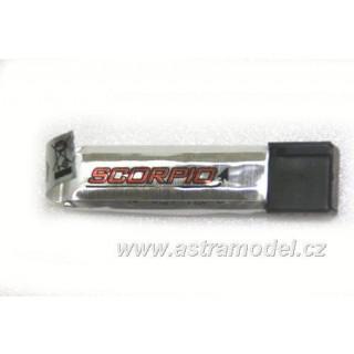 Scorpio A50: LiPol baterie