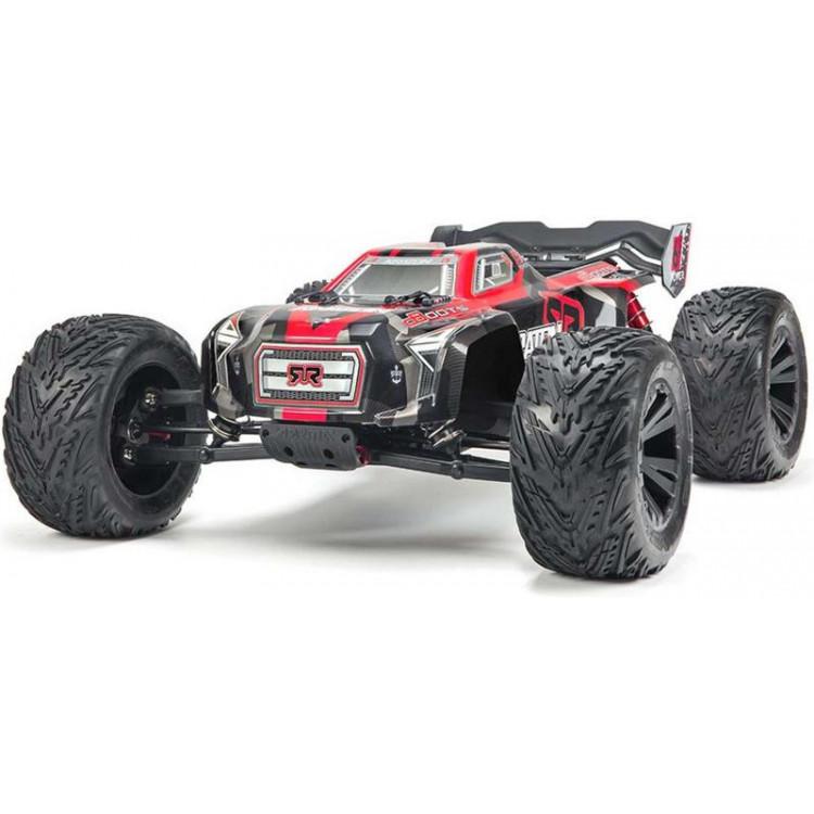 Arrma Kraton MT 6S BLX 1:8 4WD RTR černá/červená