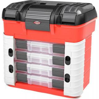 Corally přepravní kufr Pit Car se 4 šuplíky a vložkou