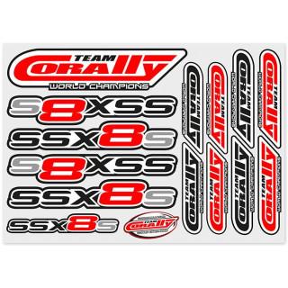 Corally - Samolepky SSX-8-S