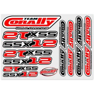 Corally - Samolepky SSX-12