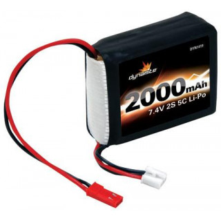 Baterie LiPol 7.4V 2000mAh 2S Rx 1:8