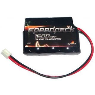 Baterie NiMH 7.2V 1600mAh: Mini-T/Baja/LST/2