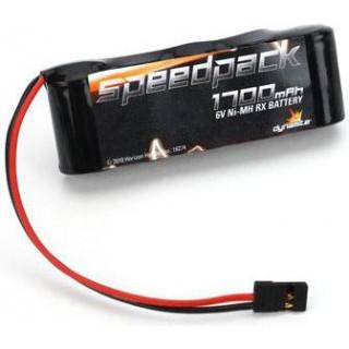 Baterie NiMH 6V 1700mAh Rx plochý pak