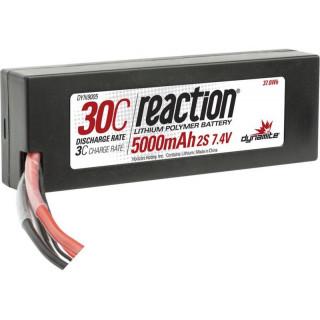 LiPol Reaction Car 7.4V 5000mAh 30C HC EC3