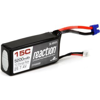 Baterie LiPol 7.4V 5200mAh 15C Rx