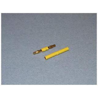 Adaptér 4mm samec/samec + 4mm samice/samice