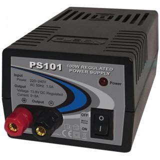 Fusion stabilizovaný zdroj 100W 230V/13.8V 8A