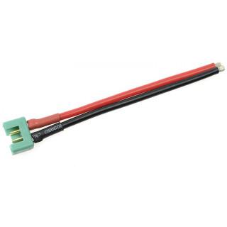 Konektor zlacený MPX samice s kabelem 14AWG 10cm