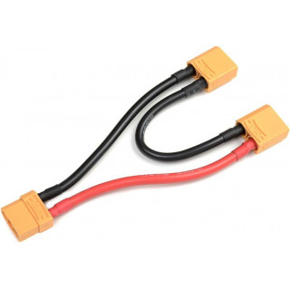 Sériový Y-kabel XT-90 10AWG 12cm