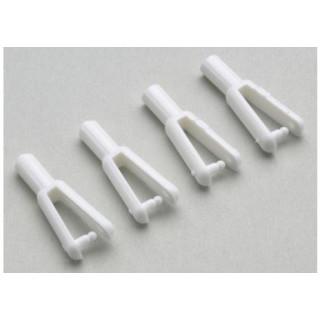 Vidlička plastová pro uhlíkové táhlo 2.0mm (5)