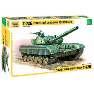 Model Kit tank 3550 - T-72B Soviet MBT  (re-release) (1:35)