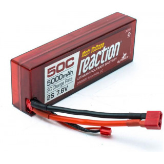 LiPol Reaction Car 7.6V HV 5000mAh 50C Deans