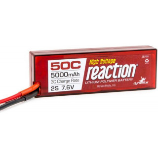 LiPol Reaction Car 7.6V HV 5000mAh 50C TRA
