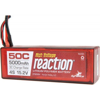 LiPol Reaction Car 15.2V HV 5000mAh 50C EC5