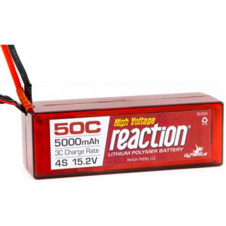 LiPol Reaction Car 15.2V HV 5000mAh 50C TRA