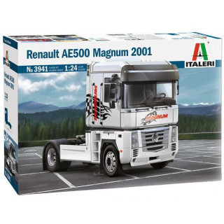 Model Kit truck 3941 - Renault AE500 Magnum (2001) (1:24)