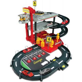 Bburago Ferrari Parking Garage se 2 auty