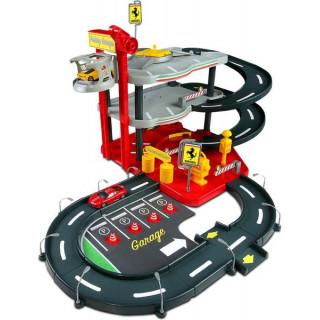 Bburago Ferrari Parking Garage se 4 auty