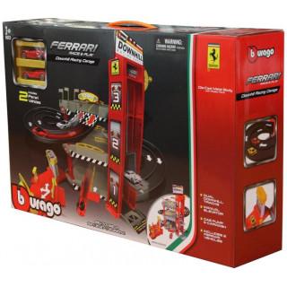 Bburago Ferrari Garáž Racing Downhill