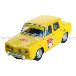 SCX Renault 8 TS žlutý