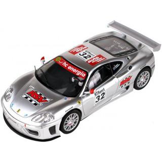 SCX Ferrari 360 GTC stříbrné