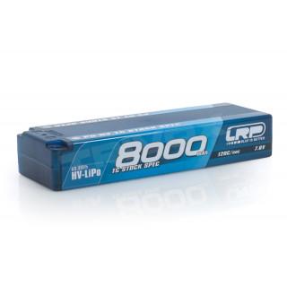 P5-HV TC Stock Spec GRAPHENE 8000mAh Hardcase - 7,6V - 120C/60C