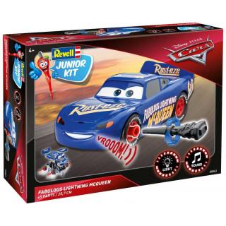 Junior Kit auto 00863 - Cars 3 - The Fabulous Lightning McQueen (světelné a zvukové efekty) (1:20)