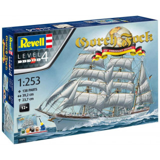 Gift-Set loď 05695 - GORCH FOCK - 60th Anniversary (1:253)