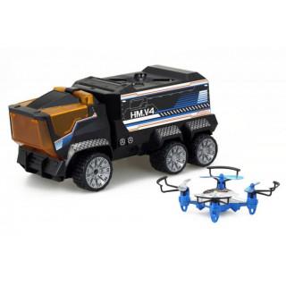 R/C auto + dron - DRONE Mission 2.4GHz