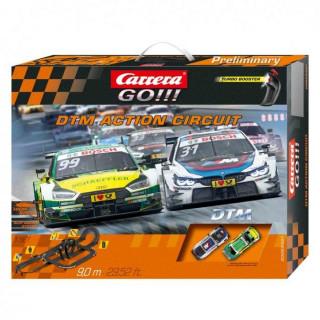 Autodráha Carrera GO 62451 DTM Action Circuit