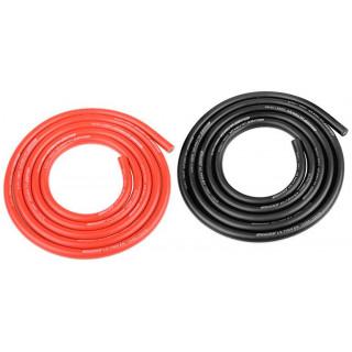 Corally silikonový kabel Super Flex 12AWG červený + černý (1m)