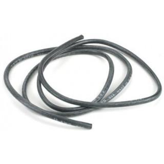 Kabel 13GA se silikonovou izolací 1m - černý