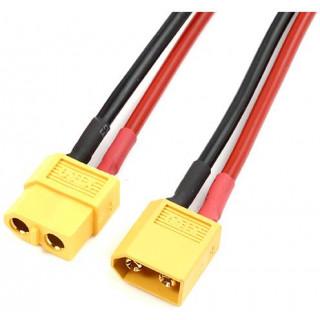Prodlužovací kabel XT60 14AWG 12cm
