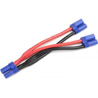 Kabel Y paralelní EC5 zlacený 14AWG 12cm