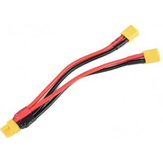 Paralelní Y-kabel XT-30 14AWG 12cm