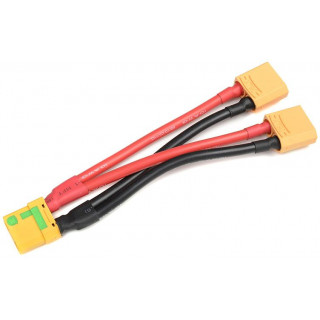 Paralelní Y-kabel XT-90 Anti-Spark 10AWG 12cm