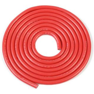 Kabel se silikonovou izolací Powerflex 16AWG červený (1m)