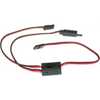 Kabel s vypínačem Futaba a klipem HD 30cm
