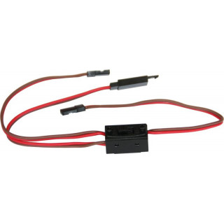 Kabel s vypínačem SPM/JR a klipem HD 30cm