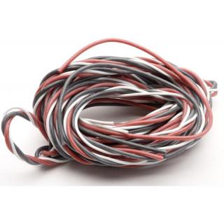 Kabel serva kroucený speciál 0.25/1mm2 5m