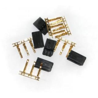 Servo konektor Futaba samec zlacený (5ks)